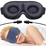 Sleep Mask Men&Women,Sleeping mask,Eye Mask for Sleeping Women&Men,New Upgraded 3D Contoured, Super Soft