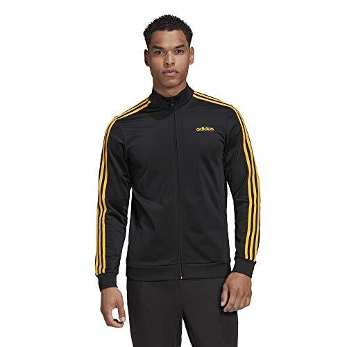 Adidas E 3S TT TRIC Sweatshirt, Hombre, Black/Active Gold, MT