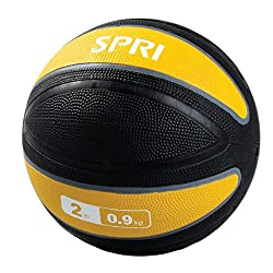 professional Thick wall, yellow, 2 lb textured SPRIXerball.