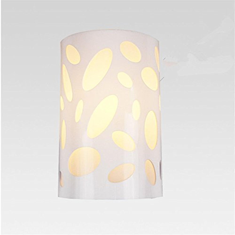 StiefelU LED Wandleuchte nach oben und unten Wandleuchten Schlafzimmer Wand lampe Nachttischlampe Wandleuchte rechteckig Treppe im Wohnzimmer, Balkon Licht acryl Wandleuchten Led, C16H 24 cm