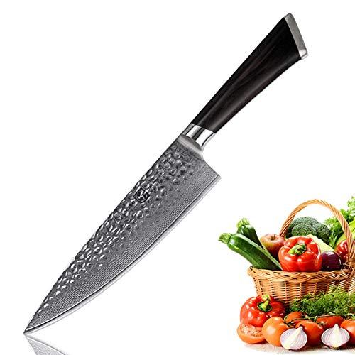 Cuchillo de Carnicero CHILE CHEF VG10 Japonés Damasco de acero Cuchillo de cocina Partido Utility Chef Cachinera Cuchillo de cocción Herramienta de cocina Sharp Cuchillo Cuchillo de carne Partido
