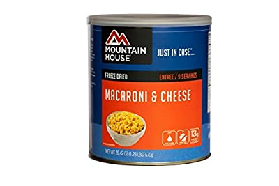 Mountain House Creamy Macaroni & Cheese | Freze Dried Backpacking & Camping Food