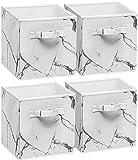 Sorbus Fabric Foldable Storage Cubes Organization Bins,...