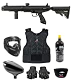 Maddog Tippmann Stormer Tactical Beginner Protective CO2 Paintball Gun Marker Starter Package - Black