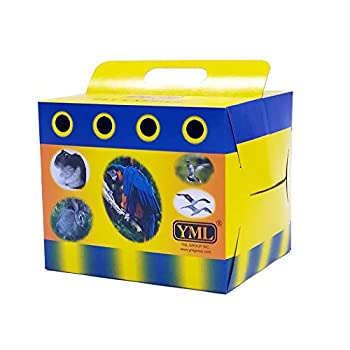 YML Carton de Transport pour Petits Animaux ou Oiseaux, Medium, Lot de 100