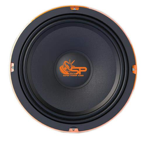SP Audio SP8CM 4 Ohm MIDRANGE 20 cm 150 Watt RMS Coppia Slim