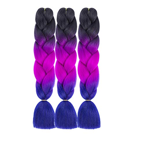 Alissa 3 Packs Jumbo Ombre Twist Hair Extensions