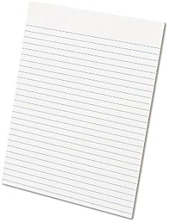 """$32 » Ampad - Glue Top Ruled Pads Wide Rule Letter White 50-Sheet Pads/Pack Dozen """"Product Category: Paper & Printable Media/Not..."""