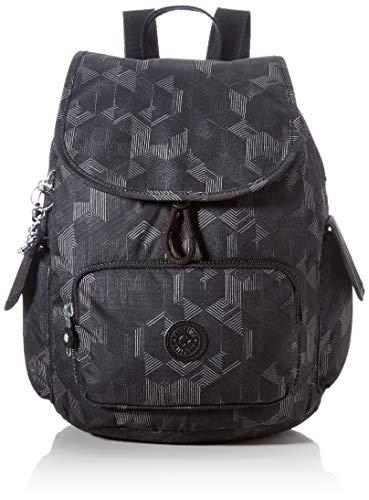 Kipling Damen City Pack S Rucksack Handtasche, Geheimnisvolles Gitter, One Size
