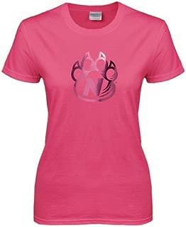 CollegeFanGear Northwest Missouri State Ladies Fuchsia T Shirt 'Official Logo'