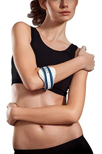 LOREY Hochwertige Ellenbogenbandage, Ellenbogen-Spange, Ellenbogenspange; Größe: S/M