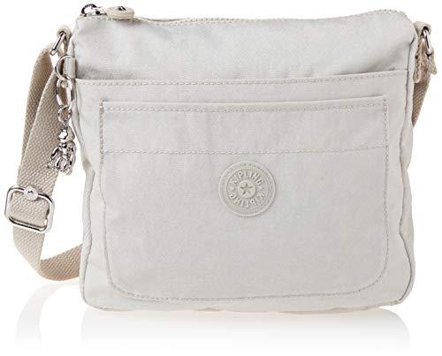 Kipling womens Sebastian Crossbody Bag, Galaxy Twist Grey, 9 L x 8.5 H 1.75 D US