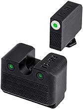TRUGLO Tritium Pro Glow-in-The-Dark Handgun Night Sights for Glock Pistols, Glock MOS 20, 21, 25, 28, 29 and More, White Rear