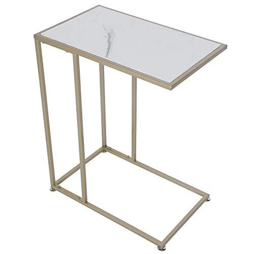 Mesa Lateral Moderna Tipo Abierto Tipo Lateral C Forma Mesa De Té Café para Dormitorio Sala De Estar Decoración De Oficina