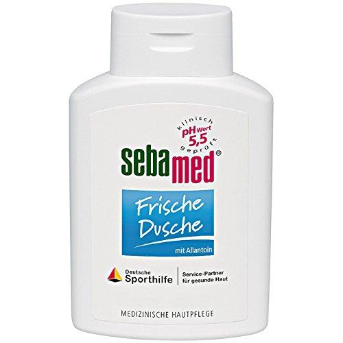 sebamed Frische Dusche, Duschgel für empfindliche und strapazierte Haut, langanhaltendes Frischegefühl, versorgt die Haut mit Feuchtigkeit durch Aminosäuren und Allantoin, Männer und Frauen (400 ml)