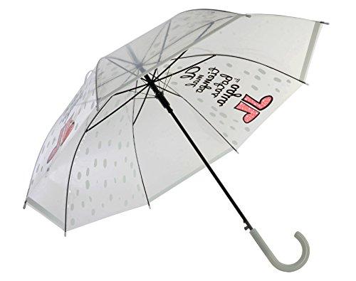 Item 761187 Paraguas Clásico, 66 cm, Transparente