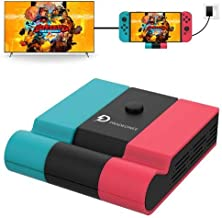 $29 » Pradeonee Switch dock station for Nintendo Switch,charging dock 45W , Replacement compatible with official docking station...