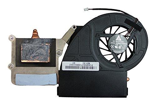 Power4Laptops Ersatz Notebook Lüfter mit Kühlkörper kompatibel mit Toshiba Satellite P500-127
