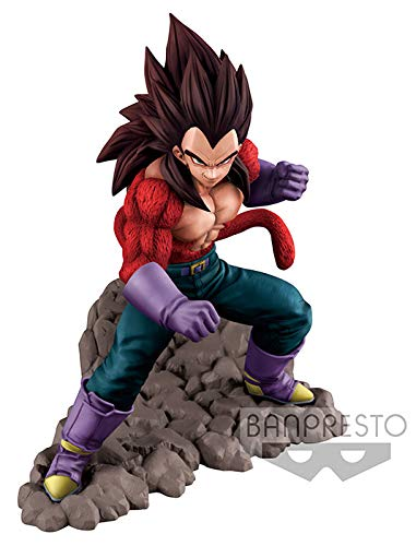 Bandai- Dragon Ball GT Estatua Super Saiyan Vegeta, Multicolor (BANP82653)