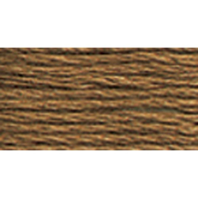 DMC 117-3862 Mouline Stranded Cotton Six Strand Embroidery Floss Thread, Dark Mocha Beige, 8.7-Yard