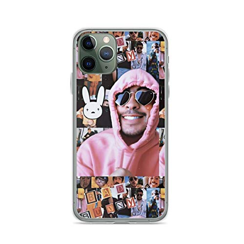 Phone Case Bad Bunny Compatible with iPhone 6 6s 7 8 X Xs Xr 11 12 Pro Max Mini Se 2020 Shockproof Bumper Funny