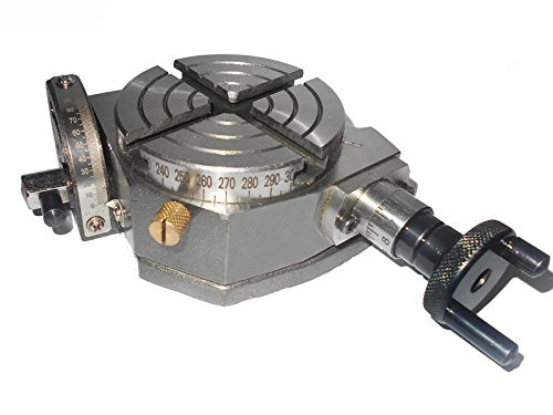 OMEX Mini Tilting Rotary Table 3 Inch - 75 MM for Milling Machine I I Made In India