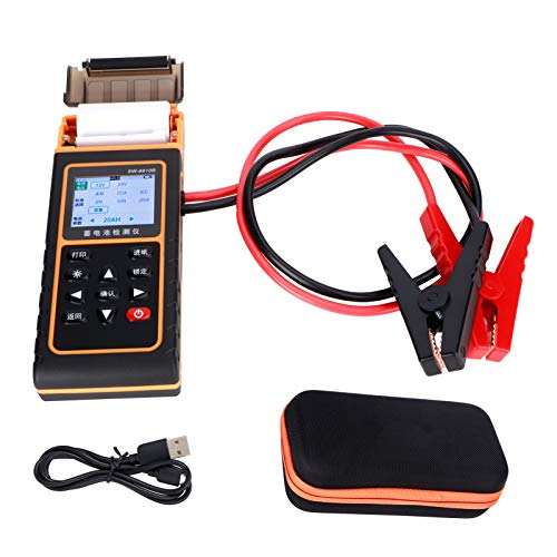 Probador de batería de coche, analizador de batería, 12V 24V para coche de gasolina