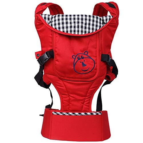 HAHABABY Mochila portabebé para Llevar a tu Bebe Manos Libres Pañuelo de algodón de diseño Ergonómico Unisex