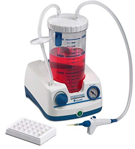Benchmark Scientific V0020-E Accuris Aspire Laboratory Aspirator with Pump and 2 L Bottle, Handheld Vacuum Controller, 230V