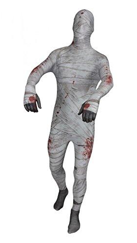 Completo Originale Costume Intero FUNSUIT Tuta per Travestimento - Mummia - Taglia S / M / L / XL / XXL [L] - Molti Disegni