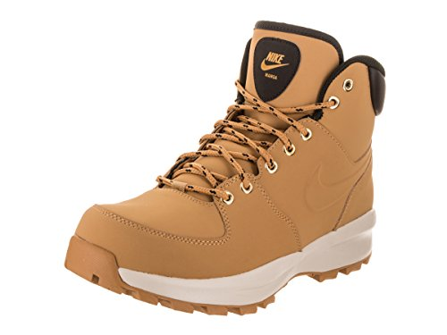 Nike Nike Manoa Leather, Men's High Rise Hiking High Rise Hiking Boots, Amarillo / Marrón (Haystack / Haystack-Velvet Brown), 9 UK (44 EU)