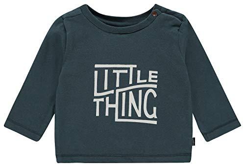 Noppies Baby-Jungen B Tee Regular ls Agawam T-Shirt, Blau (Midnight Navy P228), (Herstellergröße: 80)