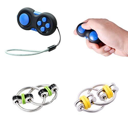 OundarM Fidget Toys Fidget Controller und Flippy Chain Stress Relief Toys für Erwachsene und Jugendliche