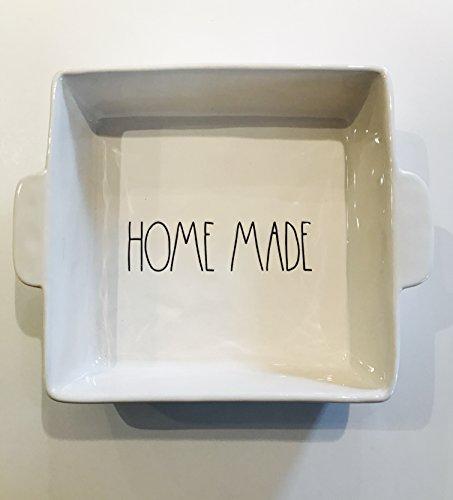 Rae Dunn Home Made cuadrado cacerola–-Gran Carta