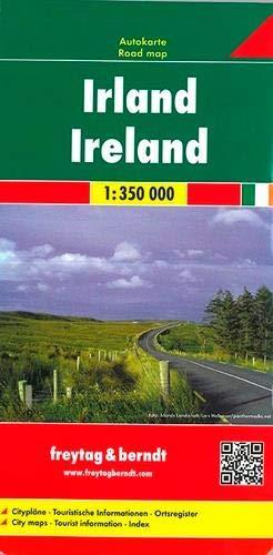 Irlanda, mapa de carreteras. Escala 1:350.000. Freytag & Berndt.: Wegenkaart 1:350 000 (Auto karte)