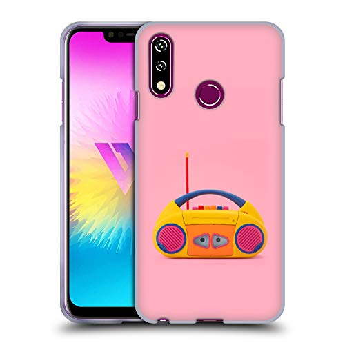 Head Case Designs Officially Licensed Pepino De Mar Cassette Toys and Gadgets Soft Gel Case Compatible with LG W10