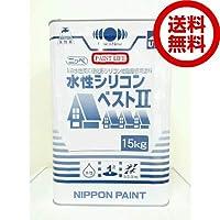 日本ペイント ニッペ水性シリコンベスト2 15kg ディープグレー