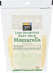 365 Everyday Value, LMPS Mozzarella Shred, 16 oz (Packaging May Vary)