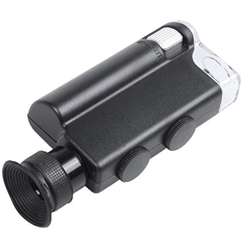 Lopbinte 200X-240X Taschenmikroskop Mit Led-Uv-Licht, Mikroskop Im Taschenformat, Finden Sie Das Universum Der Kleinen Dinge, Die Uns Umgeben
