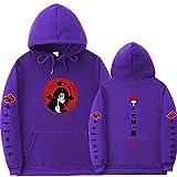 Y-PLAND Suéter con Capucha De Naruto, Sudadera Casual para Hombres Y Mujeres, Sudadera con Estampado De Itachi Akatsuki-13_XXXL