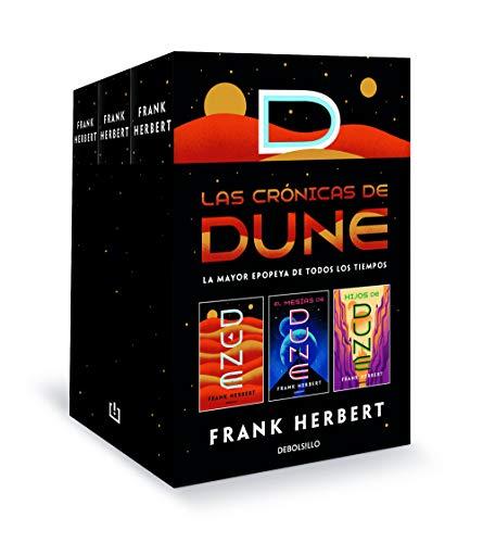 Las crónicas de Dune (pack con: Dune | El mesías de Dune | Hijos de Dune): La mayor epopeya de todos los tiempos: 26200 (Best Seller)