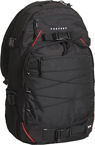 FORVERT Backpack Louis, Black, 50.5 x 26.5 x 12 cm, 19.5 Liter, 88972