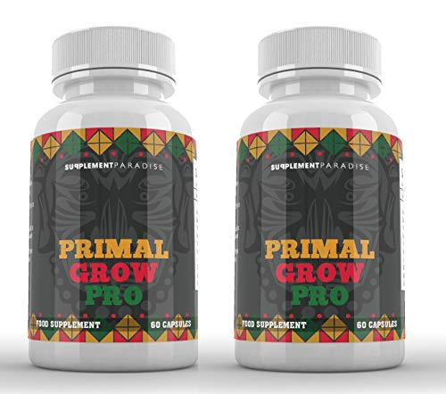 Primal Grow PRO Natural Male Enhancement Booster (2 Months Supply) SUPPLEMENT PARADISE