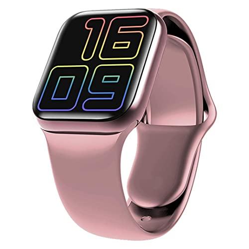 Reloj inteligente X12, Bluetooth, multifunción, monitor de ritmo cardíaco, pulsera de presión arterial, reloj deportivo, IP68 impermeable para correr, actividades al aire libre, estudiante (rosa)