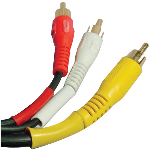 AXIS PET10-4085 Petra 206-277 C1726/G/BK/12' A/V Interconnect Cable (12-Feet)