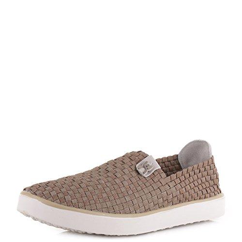 Dude Shoes dude E-Last tissé Fango - Toile Fumées, Homme, UK 9 / EU 43 / US 10 / AUS 10