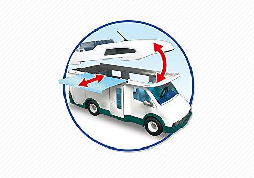 Auto Caravane Camping Playmobil pour la Famille - 6671 - 4
