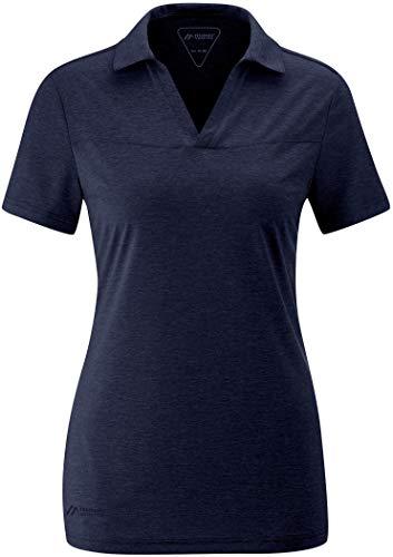 Maier Sports Bjordal T-Shirt Femme, Aviator Melange Modèle DE 42 2020 T-Shirt Manches Courtes