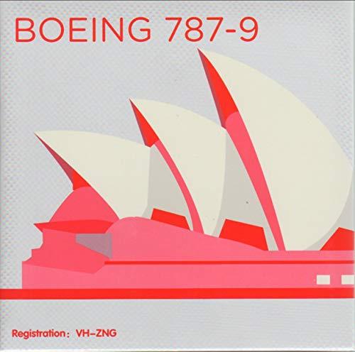 NGMB7890002A 1:400 Extra Model Qantas Boeing 787-9 Reg #VH-ZNG (pre-Painted/pre-Built)