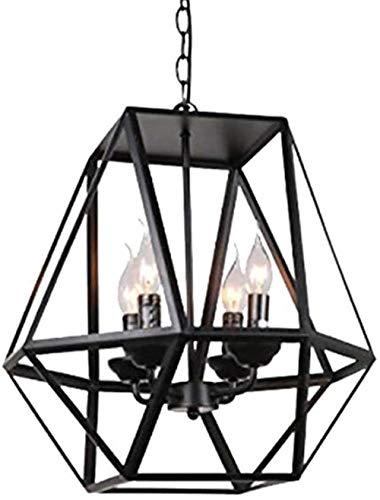 Industriële Vintage Style Rustic semi inbouw plafondlamp Retro hanglamp Brons metalen kooi lampenkap for Indoor Outdoor